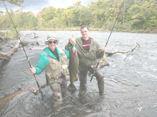 Salmon River Fishing