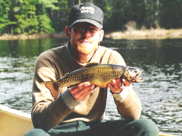 Adirondack Brook Trout Fishing