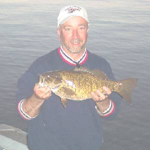 4 pound keuka lake smallmouth bass