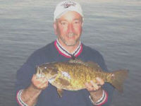 Keuka Lakes Giant Smallmouth Bass