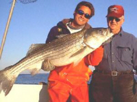 Montauk Fishing for Striped Bass