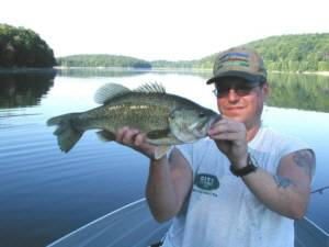 6 pound Largemoth bass